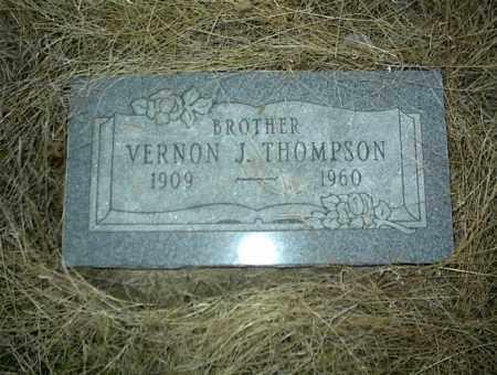 THOMPSON, VERNON J. - Nowata County, Oklahoma | VERNON J. THOMPSON - Oklahoma Gravestone Photos