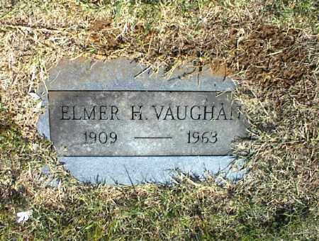 VAUGHAN, ELMER H. - Nowata County, Oklahoma | ELMER H. VAUGHAN - Oklahoma Gravestone Photos