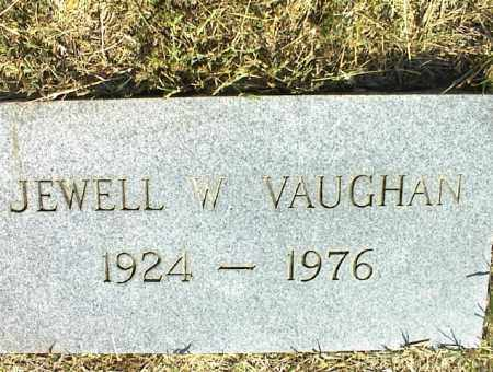 VAUGHAN, JEWELL W. - Nowata County, Oklahoma | JEWELL W. VAUGHAN - Oklahoma Gravestone Photos