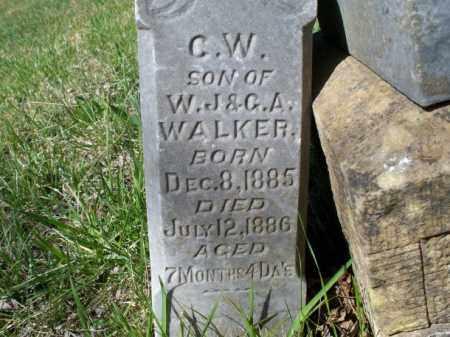 WALKER, C. W. - Nowata County, Oklahoma | C. W. WALKER - Oklahoma Gravestone Photos