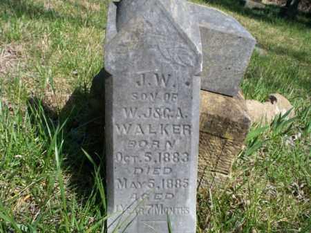 WALKER, J.W. - Nowata County, Oklahoma   J.W. WALKER - Oklahoma Gravestone Photos