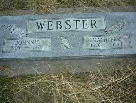 WEBSTER, KATHLEEN - Nowata County, Oklahoma   KATHLEEN WEBSTER - Oklahoma Gravestone Photos