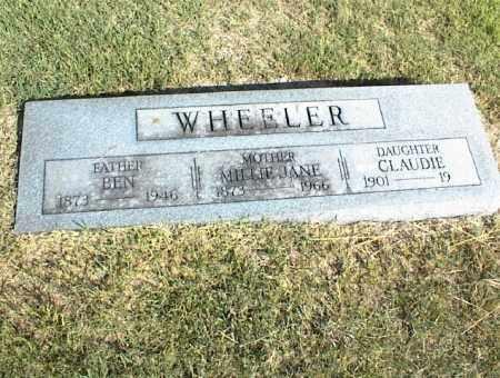 WHEELER, BEN - Nowata County, Oklahoma | BEN WHEELER - Oklahoma Gravestone Photos
