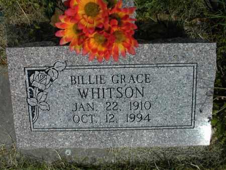 WHITSON, BILLIE GRACE - Nowata County, Oklahoma | BILLIE GRACE WHITSON - Oklahoma Gravestone Photos