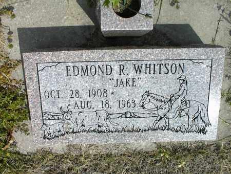 WHITSON, EDMOND R. - Nowata County, Oklahoma | EDMOND R. WHITSON - Oklahoma Gravestone Photos
