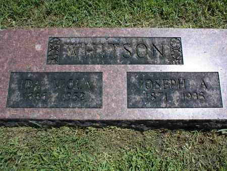 WHITSON, JOSEPH A. - Nowata County, Oklahoma | JOSEPH A. WHITSON - Oklahoma Gravestone Photos