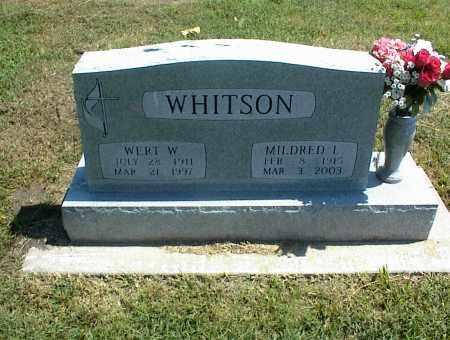 WHITSON, MILDRED L. - Nowata County, Oklahoma | MILDRED L. WHITSON - Oklahoma Gravestone Photos