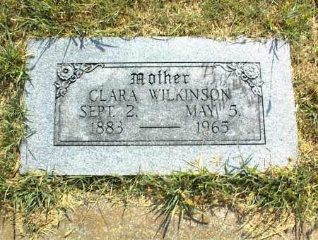 WILKINSON, CLARA - Nowata County, Oklahoma | CLARA WILKINSON - Oklahoma Gravestone Photos