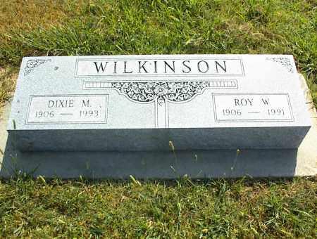WILKINSON, ROY M. - Nowata County, Oklahoma | ROY M. WILKINSON - Oklahoma Gravestone Photos