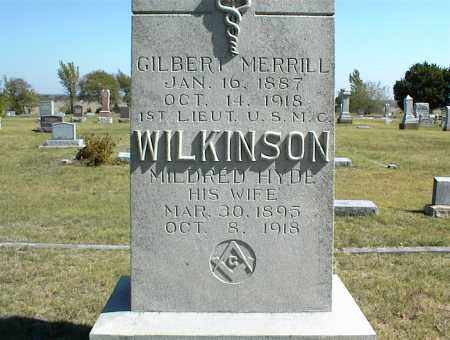 WILKINSON, MILDRED - Nowata County, Oklahoma | MILDRED WILKINSON - Oklahoma Gravestone Photos