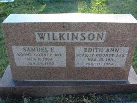 WILKINSON, SAMUEL F. - Nowata County, Oklahoma | SAMUEL F. WILKINSON - Oklahoma Gravestone Photos