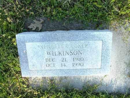 WILKINSON, XENOCLEA - Nowata County, Oklahoma | XENOCLEA WILKINSON - Oklahoma Gravestone Photos