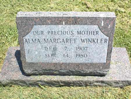 WINKLER, ALMA MARGARET - Nowata County, Oklahoma | ALMA MARGARET WINKLER - Oklahoma Gravestone Photos