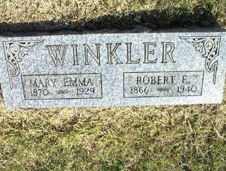 WINKLER, MARY EMMA - Nowata County, Oklahoma | MARY EMMA WINKLER - Oklahoma Gravestone Photos
