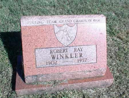 WINKLER, ROBERT RAY - Nowata County, Oklahoma | ROBERT RAY WINKLER - Oklahoma Gravestone Photos