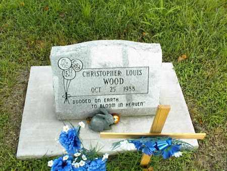 WOOD, CHRISTOPHER LOUIS - Nowata County, Oklahoma | CHRISTOPHER LOUIS WOOD - Oklahoma Gravestone Photos