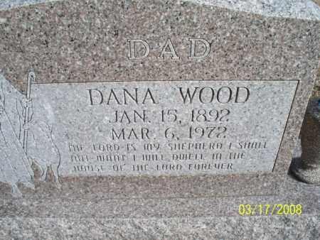 WOOD, DANA - Nowata County, Oklahoma | DANA WOOD - Oklahoma Gravestone Photos