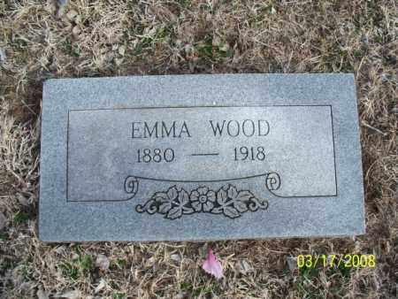 WOOD, EMMA - Nowata County, Oklahoma   EMMA WOOD - Oklahoma Gravestone Photos