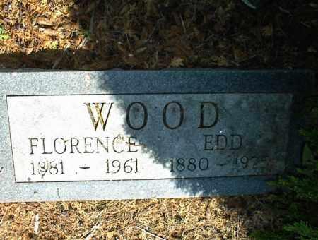 WOOD, FLORENCE - Nowata County, Oklahoma   FLORENCE WOOD - Oklahoma Gravestone Photos