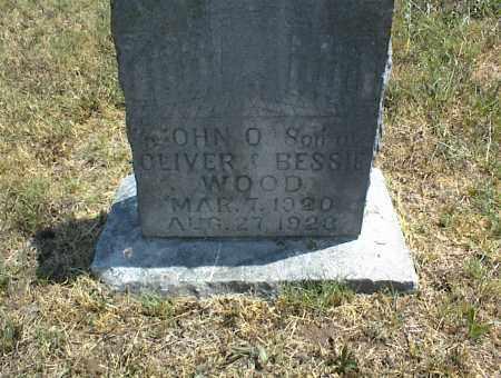 WOOD, JOHN O. - Nowata County, Oklahoma | JOHN O. WOOD - Oklahoma Gravestone Photos