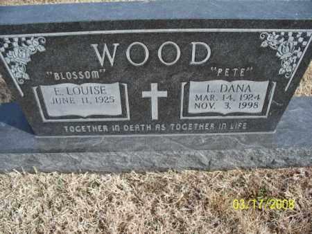 WOOD, L. DANA - Nowata County, Oklahoma | L. DANA WOOD - Oklahoma Gravestone Photos