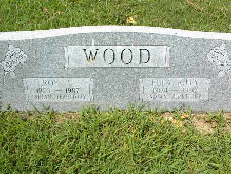 WOOD, EULA - Nowata County, Oklahoma | EULA WOOD - Oklahoma Gravestone Photos