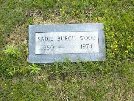 WOOD, SADIE - Nowata County, Oklahoma   SADIE WOOD - Oklahoma Gravestone Photos