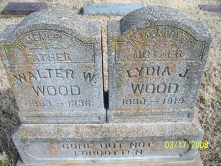 WOOD, WALTER W. - Nowata County, Oklahoma | WALTER W. WOOD - Oklahoma Gravestone Photos