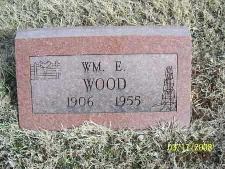 WOOD, WM. E. - Nowata County, Oklahoma | WM. E. WOOD - Oklahoma Gravestone Photos