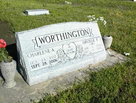 WORTHINGTON, ORVILLE E. - Nowata County, Oklahoma   ORVILLE E. WORTHINGTON - Oklahoma Gravestone Photos