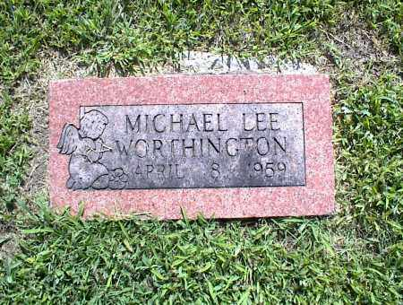 WORTHINGTON, MICHAEL LEE - Nowata County, Oklahoma | MICHAEL LEE WORTHINGTON - Oklahoma Gravestone Photos