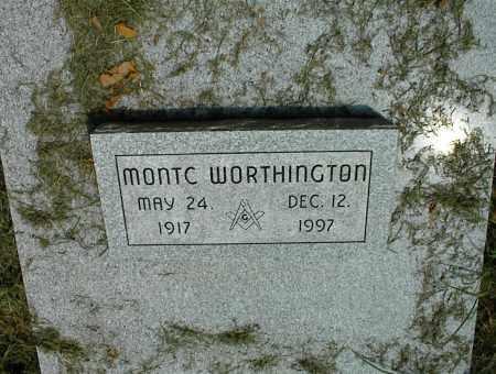 WORTHINGTON, MONTC - Nowata County, Oklahoma   MONTC WORTHINGTON - Oklahoma Gravestone Photos