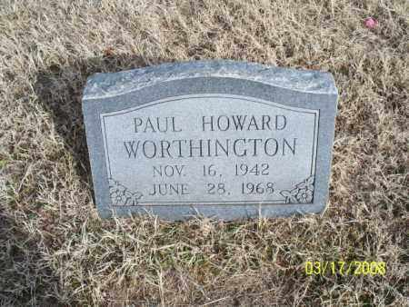 WORTHINGTON, PAUL HOWARD - Nowata County, Oklahoma | PAUL HOWARD WORTHINGTON - Oklahoma Gravestone Photos