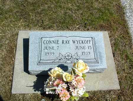 WYCKOFF, CONNIE RAY - Nowata County, Oklahoma | CONNIE RAY WYCKOFF - Oklahoma Gravestone Photos