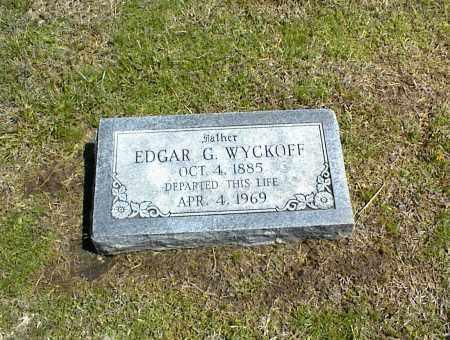 WYCKOFF, EDGAR G. - Nowata County, Oklahoma | EDGAR G. WYCKOFF - Oklahoma Gravestone Photos