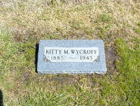 WYCKOFF, KITTY M. - Nowata County, Oklahoma   KITTY M. WYCKOFF - Oklahoma Gravestone Photos