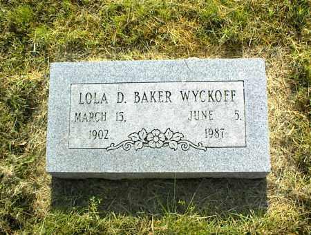 WYCKOFF, LOLA D. - Nowata County, Oklahoma | LOLA D. WYCKOFF - Oklahoma Gravestone Photos
