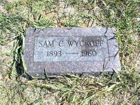 WYCKOFF, SAM C. - Nowata County, Oklahoma   SAM C. WYCKOFF - Oklahoma Gravestone Photos