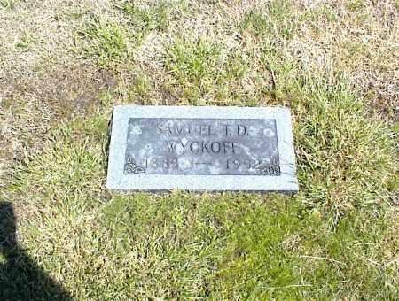 WYCKOFF, SAMUEL T. D. - Nowata County, Oklahoma   SAMUEL T. D. WYCKOFF - Oklahoma Gravestone Photos