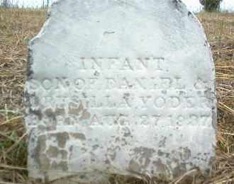 YODER, INFANT SON - Nowata County, Oklahoma | INFANT SON YODER - Oklahoma Gravestone Photos