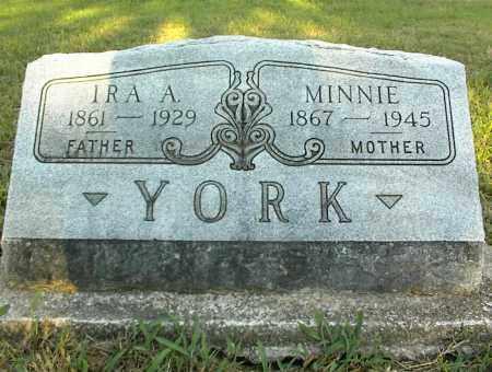 YORK, MINNIE - Nowata County, Oklahoma | MINNIE YORK - Oklahoma Gravestone Photos