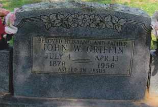 GRIFFIN, JOHN W. - Okfuskee County, Oklahoma | JOHN W. GRIFFIN - Oklahoma Gravestone Photos