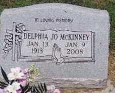 MCKINNEY, DELPHIA JO - Okfuskee County, Oklahoma | DELPHIA JO MCKINNEY - Oklahoma Gravestone Photos