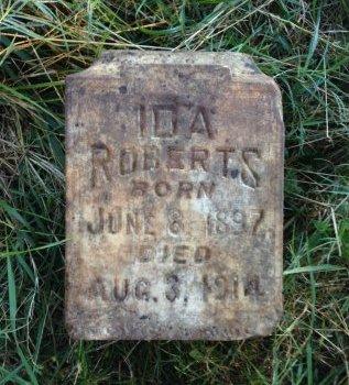 ROBERTS, IDA - Okfuskee County, Oklahoma | IDA ROBERTS - Oklahoma Gravestone Photos