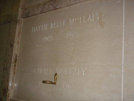 HALES MULLALY, HATTIE BELLE - Oklahoma County, Oklahoma | HATTIE BELLE HALES MULLALY - Oklahoma Gravestone Photos
