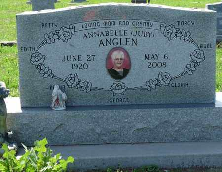ANGLEN, ANNABELLE - Osage County, Oklahoma | ANNABELLE ANGLEN - Oklahoma Gravestone Photos