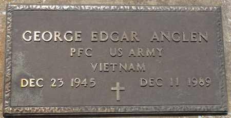 ANGLEN (VETERAN VIETNAM), GEORGE EDGAR - Osage County, Oklahoma   GEORGE EDGAR ANGLEN (VETERAN VIETNAM) - Oklahoma Gravestone Photos