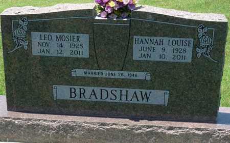 BRADSHAW, LEO MOSIER - Osage County, Oklahoma | LEO MOSIER BRADSHAW - Oklahoma Gravestone Photos