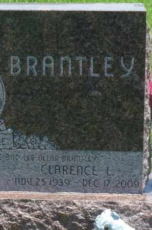 BRANTLEY, CLARENCE L - Osage County, Oklahoma | CLARENCE L BRANTLEY - Oklahoma Gravestone Photos