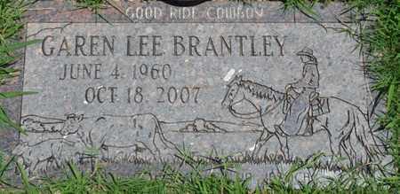 BRANTLEY, GAREN LEE - Osage County, Oklahoma | GAREN LEE BRANTLEY - Oklahoma Gravestone Photos